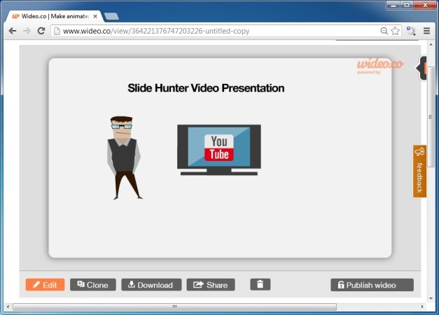 Create And Share Animated Videos